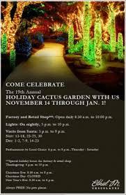 ethel m chocolate factory las vegas holiday lights ethel m chocolates begins 19th annual holiday cactus garden jockey