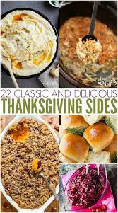 classic thanksgiving side dish recipes family fresh meals