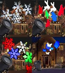 gemmy lightshow lightshow swirling white snowflakes led projection light