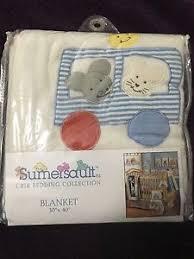 Sumersault Crib Bedding Sumersault Crib Bedding Collection Blanket 30 X 40 Ebay