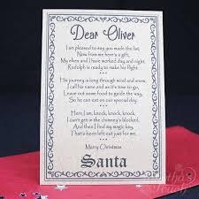 santa key santa christmas box personalised with santa key letter and