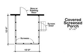House Plans With Covered Porch Your Screened Porch Plans Should Include The Features You Want