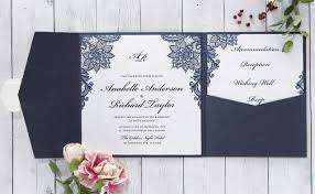 Wedding Pocket Invitations Personalised Invitations Laser Cut Foiled Letterpress U0026 Pocket
