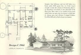 vintage house plans 1944 antique alter ego