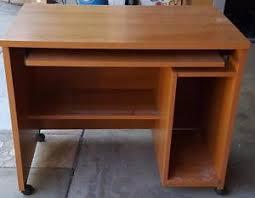 Veneer Desk Great Gently Compressed Wood Veneer Computer Desk Gd Condition