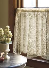 victorian rose window treatments u2014 granny gingham