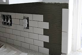 How To Do Tile Backsplash by Subway Tile Kitchen Backsplash How To Withheart
