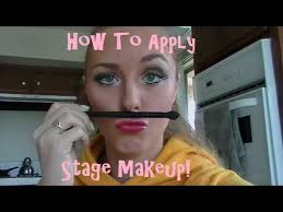 Stage Makeup Classes Beauty Makeup Lessons Tes Teach