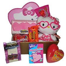 hello gift basket hello s day chocolate and candy gift