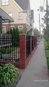 fence aluminum fence installation horrible homewyse aluminum