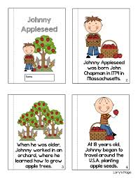 lory u0027s 2nd grade skills johnny appleseed day