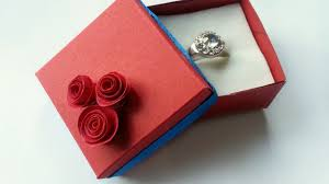 how to create a lovely ring box diy crafts tutorial