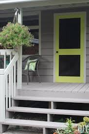 How To Build A Backyard Swing How To Build A Screen Door Diy Screen Door