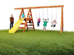 make wood swing set u2014 all home ideas and decor simple diy swing