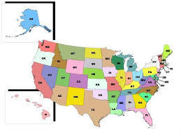 us map with alaska and hawaii united states map of hawaii stock vector usa map with federal