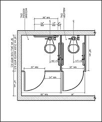 Handicap Vanity Height Ada Compliant Bathroom Floor Plan Accessible Commercial Restrooms