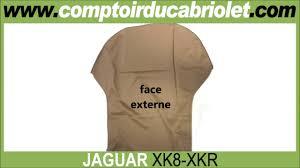 capote pour jaguar xk8 xkr cabriolet toile alpaga toile vinyle
