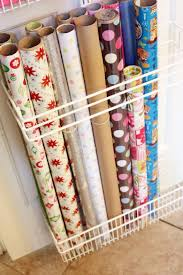 ways to store wrapping paper best 25 wrapping paper storage ideas on gift wrap
