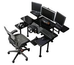 best gaming desks ultimate gaming desk swordfish the ultimate pc desk computer for