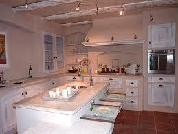 cuisine provencale avec ilot cuisines des alpilles nos cuisines