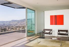 patio doors balcony view h house salt lake city by axis architects