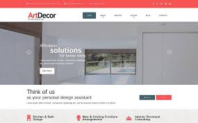 Websites For Interior Designers by 20 Latest Interior Design Wordpress Themes That Will Make You Feel