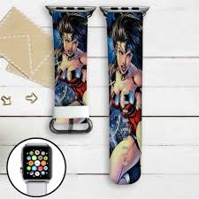 B And Q Bathroom Accessories by Wonder Woman Dc Comics Custom Apple Watch Band Leather Strap Wrist
