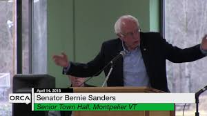bernie sanders house in vermont vt state house special event bernie sanders senior town hall youtube