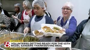 live inside look at mozel sanders thanksgiving dinner preps