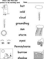 groundhog day crafts worksheets and printable books