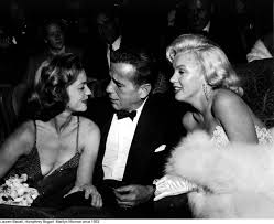 celebrities hanging out humphrey bogart lauren bacall and people