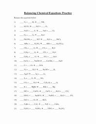 worksheet balancing chemical equations unique 11 best of balancing equations worksheet balancing