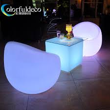 plastic lighting cheap wholesale low seating led bedroom furniture