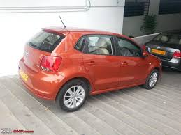 volkswagen orange 2014 vw polo 1 5l tdi test drive thread team bhp