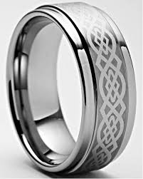 mens tungsten wedding bands celtic tungsten rings celtic tungsten carbide wedding band