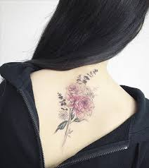 delicate flower tattoo from tattooist my interests