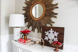 home for the holidays design challenge entryway reveal erin spain