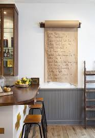 379 best kitchen inspiration images on pinterest kitchen grey dinner party details hang a roll of butcher paper to use for all your menus entertaining inspiration