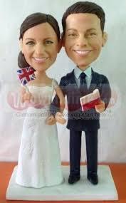 custom wedding toppers 36 best mini me custom cake toppers images on custom