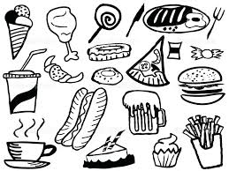 coloring pages of food food coloring pages food coloring pages hamburger food coloring