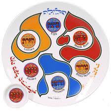 sedar plates porcelain seder plate with matching plates square matzah