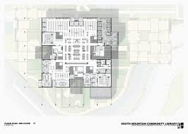 library of congress floor plan south mountain community library by richärd bauer