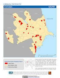 Caspian Sea World Map by Maps Global Rural Urban Mapping Project Grump V1 Sedac