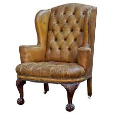 Wing Back Chair Design Ideas Chair Design Ideas Brown Leather Wing Chair Recliners Leather