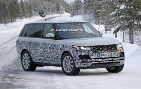 first range rover carscoops range rover