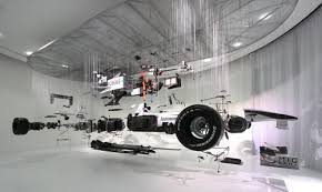 display art mercedes gp formula 1 art goes on display