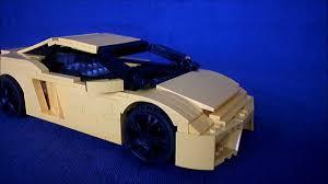 lamborghini lego set lego set 8169 lamborghini modification youtube