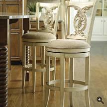 carved grapes swivel bar stool betterimprovement com