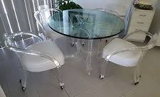 Lucite Dining Chair Lucite Dining Table Ebay