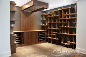 contemporary wine cellar the cube by genuwine cellars